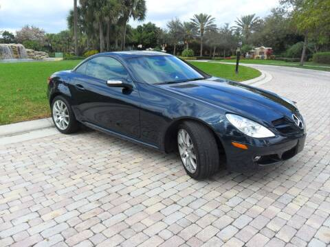 2006 Mercedes-Benz SLK for sale at AUTO HOUSE FLORIDA in Pompano Beach FL