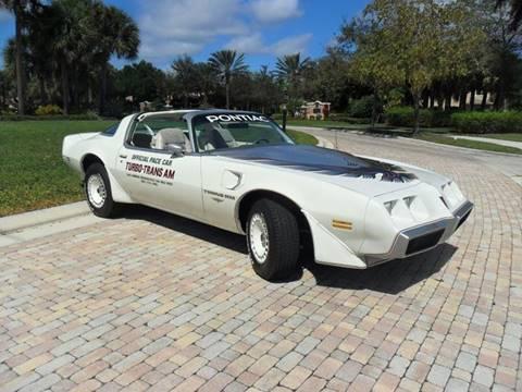 1980 Pontiac Trans Am for sale at AUTO HOUSE FLORIDA in Pompano Beach FL
