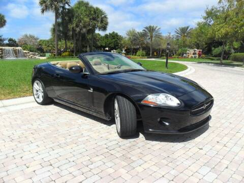 2007 Jaguar XK-Series for sale at AUTO HOUSE FLORIDA in Pompano Beach FL