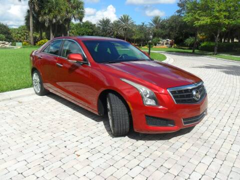 2014 Cadillac ATS for sale at AUTO HOUSE FLORIDA in Pompano Beach FL