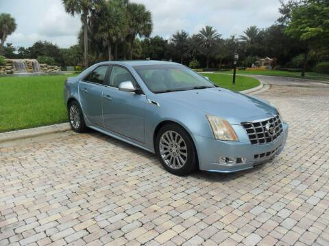 2013 Cadillac CTS for sale at AUTO HOUSE FLORIDA in Pompano Beach FL