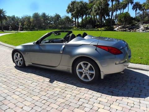 2005 Nissan 350Z for sale at AUTO HOUSE FLORIDA in Pompano Beach FL