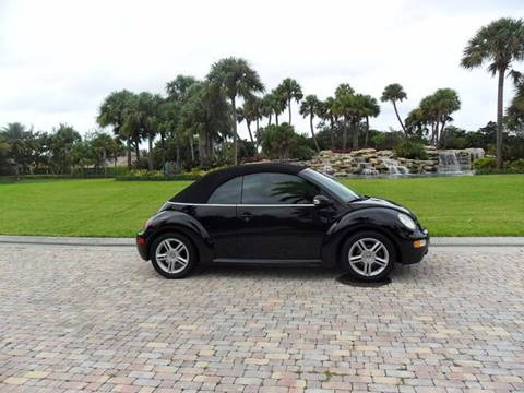 2004 Volkswagen New Beetle for sale at AUTO HOUSE FLORIDA in Pompano Beach FL