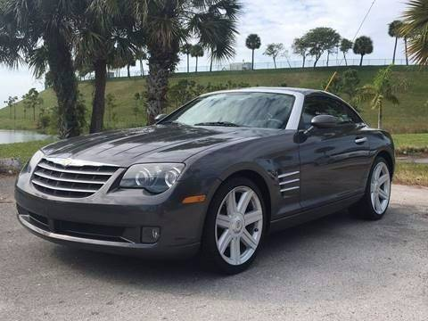 2005 Chrysler Crossfire for sale at AUTO HOUSE FLORIDA in Pompano Beach FL