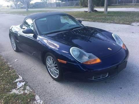 2001 Porsche Boxster for sale in Pompano Beach, FL