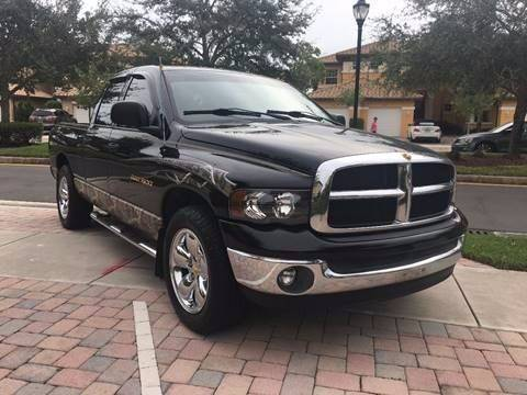 2004 Dodge Ram Pickup 1500 for sale at AUTO HOUSE FLORIDA in Pompano Beach FL
