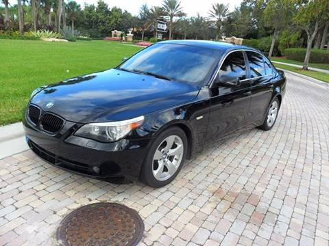 2007 BMW 5 Series for sale at AUTO HOUSE FLORIDA in Pompano Beach FL