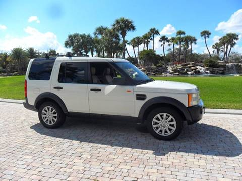 2007 Land Rover LR3 for sale at AUTO HOUSE FLORIDA in Pompano Beach FL