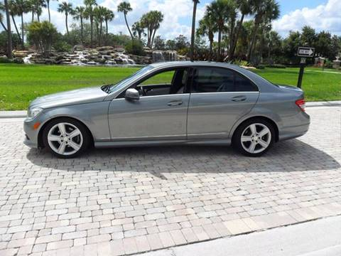 2010 Mercedes-Benz C-Class for sale at AUTO HOUSE FLORIDA in Pompano Beach FL