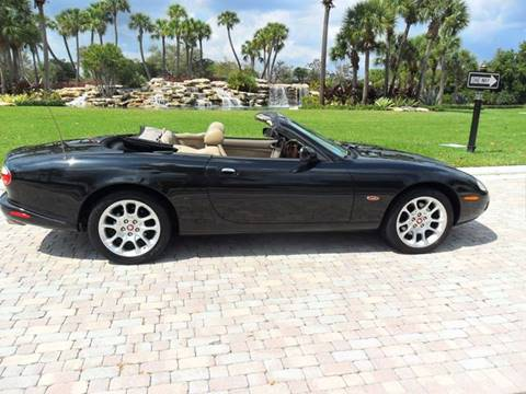 2002 Jaguar XKR for sale at AUTO HOUSE FLORIDA in Pompano Beach FL