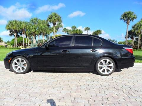 2009 BMW 5 Series for sale at AUTO HOUSE FLORIDA in Pompano Beach FL