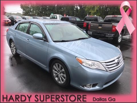 2012 Toyota Avalon for sale in Dallas, GA