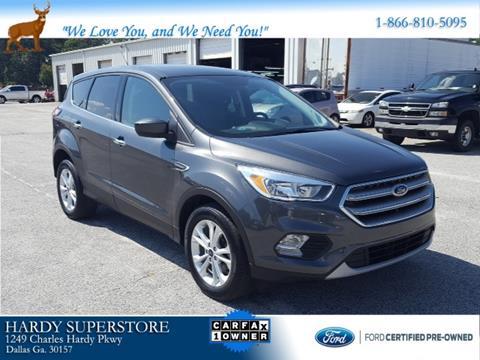 2017 Ford Escape for sale in Dallas, GA