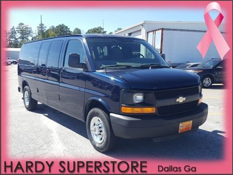 2011 Chevrolet Express Passenger for sale in Dallas, GA