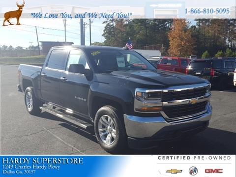 2016 Chevrolet Silverado 1500 for sale in Dallas, GA