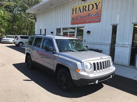2016 Jeep Patriot for sale in Dallas, GA