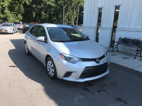 2015 Toyota Corolla for sale in Dallas, GA