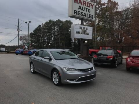 2016 Chrysler 200 for sale in Dallas, GA