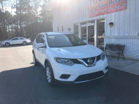 2016 Nissan Rogue S for sale at Hardy Auto Resales in Dallas GA