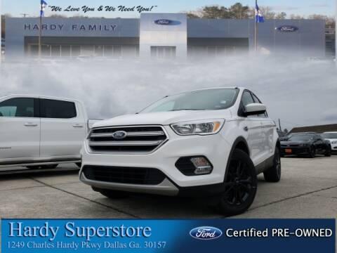 2017 Ford Escape SE for sale at Hardy Auto Resales in Dallas GA