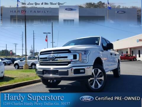 2018 Ford F-150 XLT for sale at Hardy Auto Resales in Dallas GA