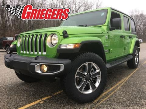 2019 Jeep Wrangler Unlimited for sale in Valparaiso, IN