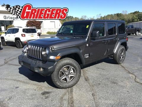 2018 Jeep Wrangler Unlimited for sale in Valparaiso, IN