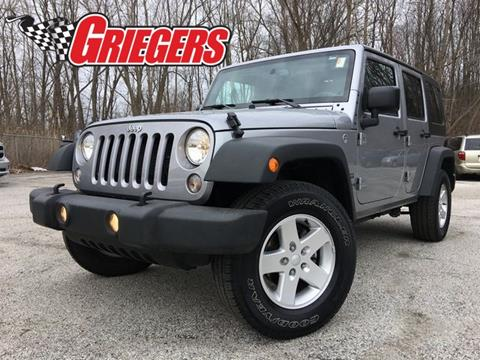 2016 Jeep Wrangler Unlimited for sale in Valparaiso, IN