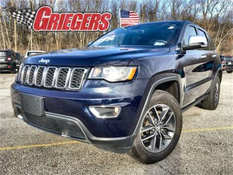 2017 Jeep Grand Cherokee for sale in Valparaiso, IN