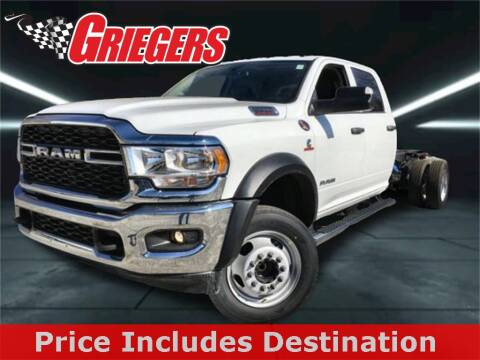 2020 RAM Ram Chassis 5500 for sale at GRIEGER'S MOTOR SALES CHRYSLER DODGE JEEP RAM in Valparaiso IN