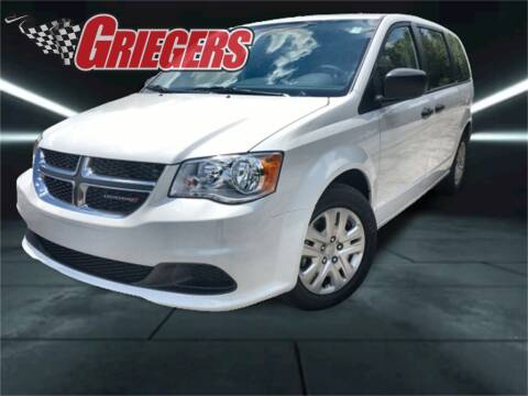 2020 Dodge Grand Caravan for sale at GRIEGER'S MOTOR SALES CHRYSLER DODGE JEEP RAM in Valparaiso IN