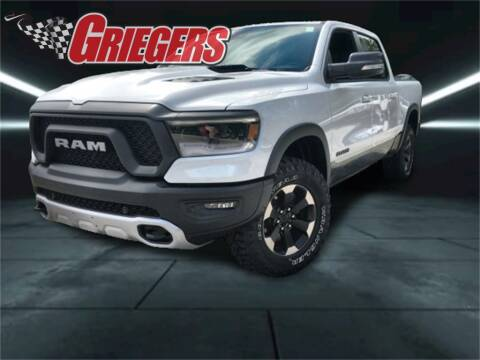 2020 RAM Ram Pickup 1500 for sale at GRIEGER'S MOTOR SALES CHRYSLER DODGE JEEP RAM in Valparaiso IN
