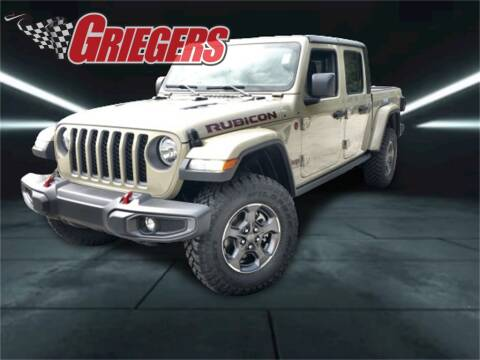 2020 Jeep Gladiator for sale at GRIEGER'S MOTOR SALES CHRYSLER DODGE JEEP RAM in Valparaiso IN