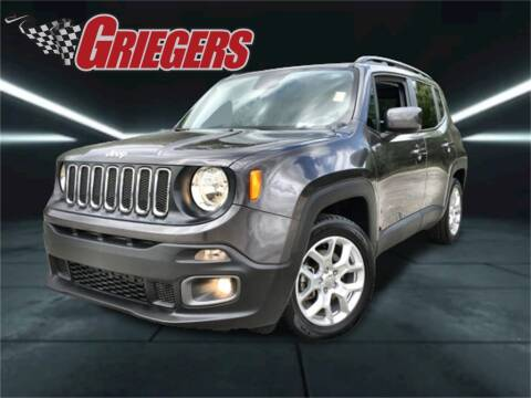 2018 Jeep Renegade for sale at GRIEGER'S MOTOR SALES CHRYSLER DODGE JEEP RAM in Valparaiso IN