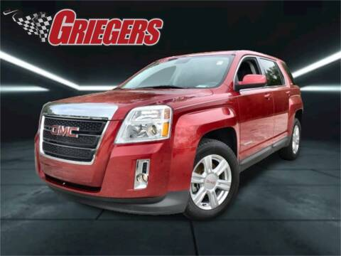 2015 GMC Terrain for sale at GRIEGER'S MOTOR SALES CHRYSLER DODGE JEEP RAM in Valparaiso IN