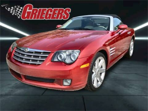 2006 Chrysler Crossfire for sale at GRIEGER'S MOTOR SALES CHRYSLER DODGE JEEP RAM in Valparaiso IN