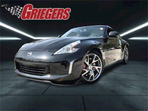 2015 Nissan 370Z for sale at GRIEGER'S MOTOR SALES CHRYSLER DODGE JEEP RAM in Valparaiso IN