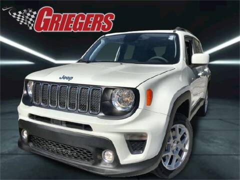 2019 Jeep Renegade for sale at GRIEGER'S MOTOR SALES CHRYSLER DODGE JEEP RAM in Valparaiso IN