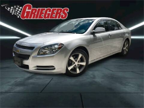 2012 Chevrolet Malibu for sale at GRIEGER'S MOTOR SALES CHRYSLER DODGE JEEP RAM in Valparaiso IN