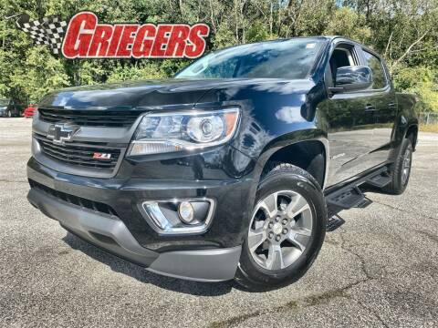 2020 Chevrolet Colorado for sale at GRIEGER'S MOTOR SALES CHRYSLER DODGE JEEP RAM in Valparaiso IN