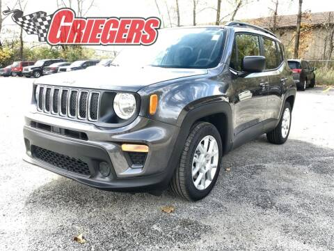 2020 Jeep Renegade for sale at GRIEGER'S MOTOR SALES CHRYSLER DODGE JEEP RAM in Valparaiso IN
