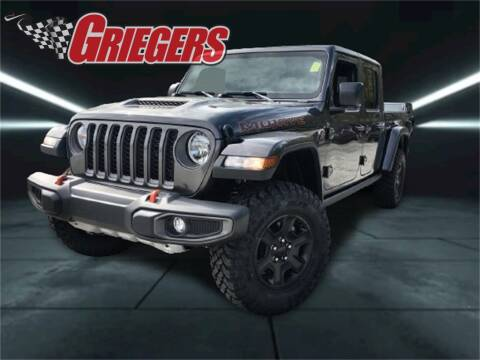 2021 Jeep Gladiator for sale at GRIEGER'S MOTOR SALES CHRYSLER DODGE JEEP RAM in Valparaiso IN