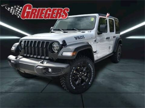 2021 Jeep Wrangler Unlimited for sale at GRIEGER'S MOTOR SALES CHRYSLER DODGE JEEP RAM in Valparaiso IN