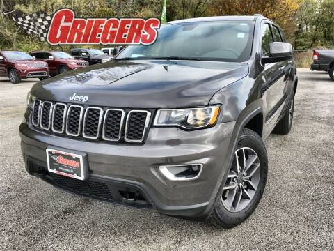2020 Jeep Grand Cherokee for sale at GRIEGER'S MOTOR SALES CHRYSLER DODGE JEEP RAM in Valparaiso IN