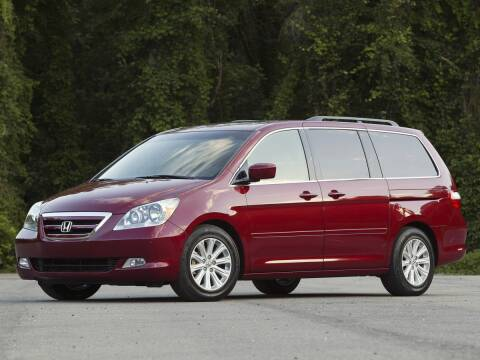 2005 Honda Odyssey for sale at GRIEGER'S MOTOR SALES CHRYSLER DODGE JEEP RAM in Valparaiso IN