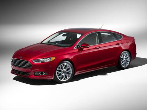 2016 Ford Fusion for sale at GRIEGER'S MOTOR SALES CHRYSLER DODGE JEEP RAM in Valparaiso IN