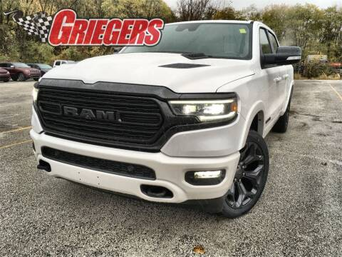 2021 RAM Ram Pickup 1500 for sale at GRIEGER'S MOTOR SALES CHRYSLER DODGE JEEP RAM in Valparaiso IN