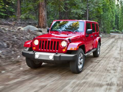 2014 Jeep Wrangler Unlimited for sale at GRIEGER'S MOTOR SALES CHRYSLER DODGE JEEP RAM in Valparaiso IN