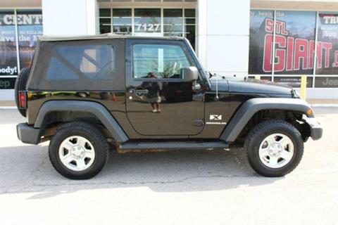 2008 Jeep Wrangler for sale in Saint Louis, MO