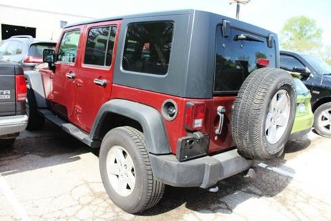 2010 Jeep Wrangler Unlimited for sale in Saint Louis, MO